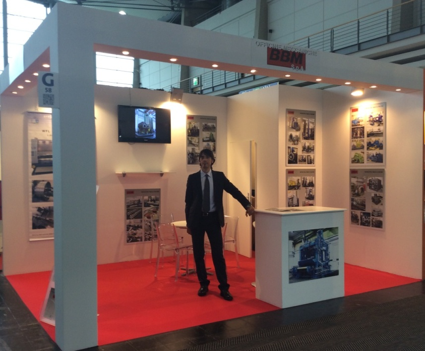 Hannover Messe 2014 stand BBM